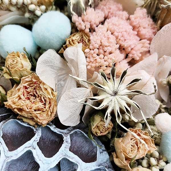Tarta de flores preservadas Floristería Almería (1)