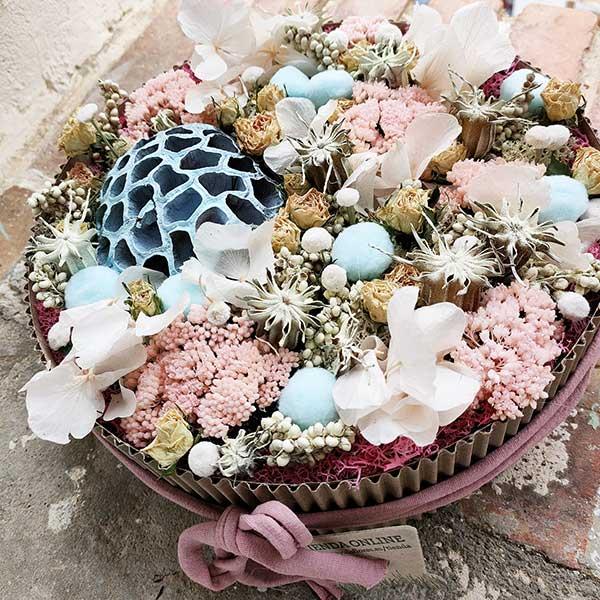 Tarta de flores preservadas Floristería Almería (10)