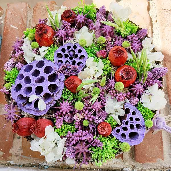 Tarta de flores preservadas Floristería Almería (5)