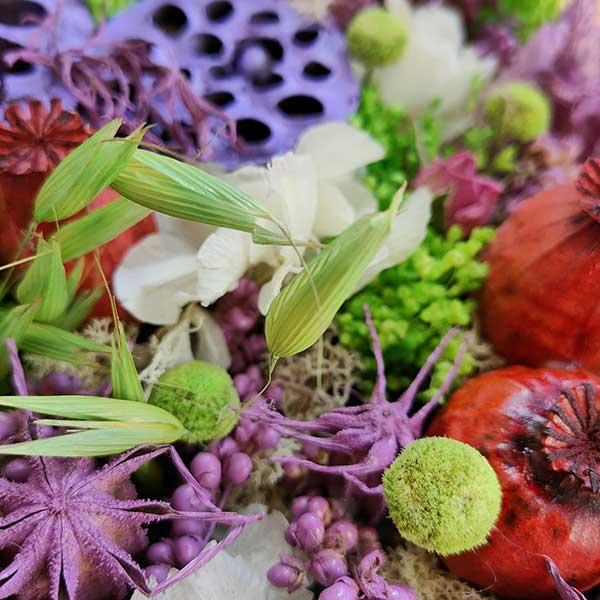 Tarta de flores preservadas Floristería Almería (6)